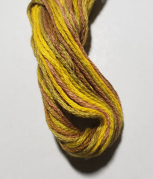 M81 Honeycomb Hand Dyed Cotton Embroidery Thread 6-ply Valdani