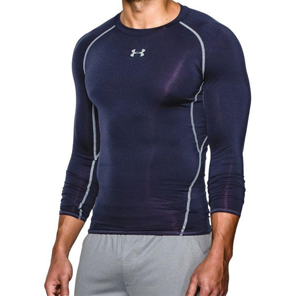 Men's Long Sleeved Compression T-shirt  Under Armour 1257471-410 Marinblå