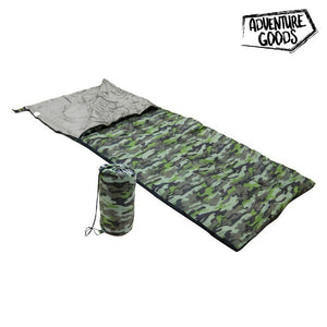 Sovsäck Adventure Goods 36088 (190 x 75 cm) Green