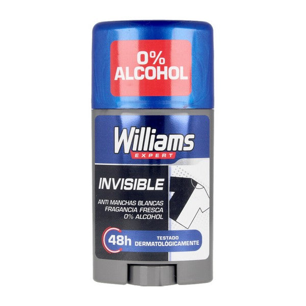 Deodorantstick Invisible Williams (75 ml)