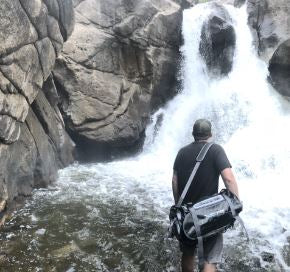 The Forty Duffle Bag conquers waterfalls!