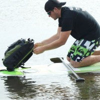 Waterproof standup paddleboarding bag
