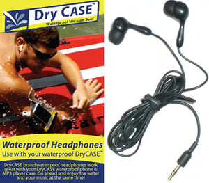 DryCASE Brand Waterproof Headphones Available