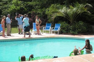 Filming of the DryCASE TV Commercial