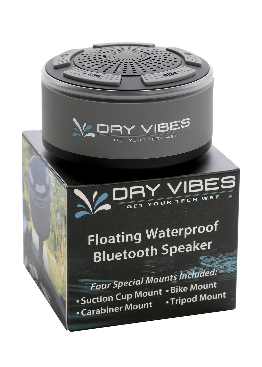 DryVibes 2.0 Waterproof Floating Bluetooth Speaker