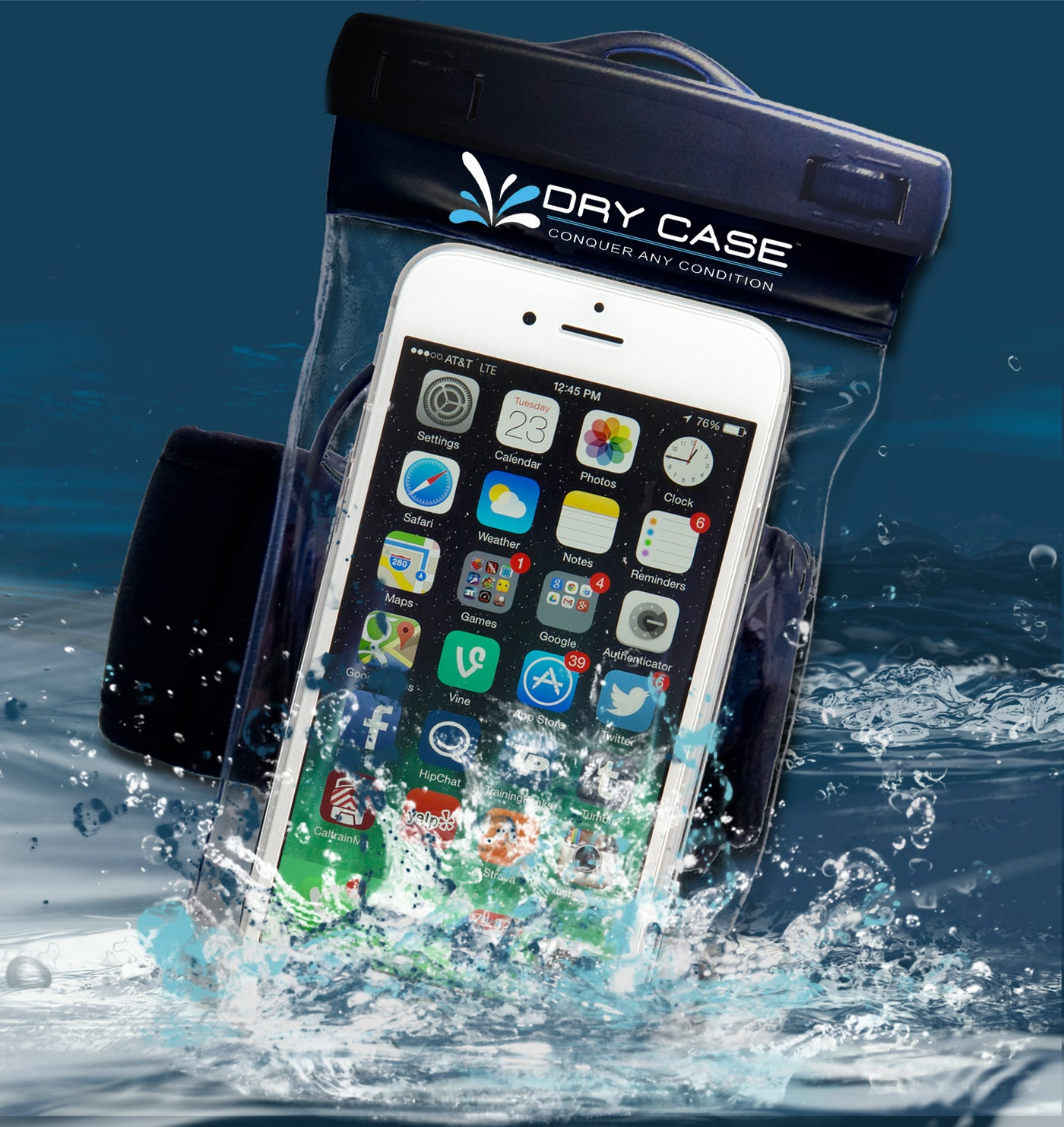 new product d5703 5bd38 Waterproof Phone Case