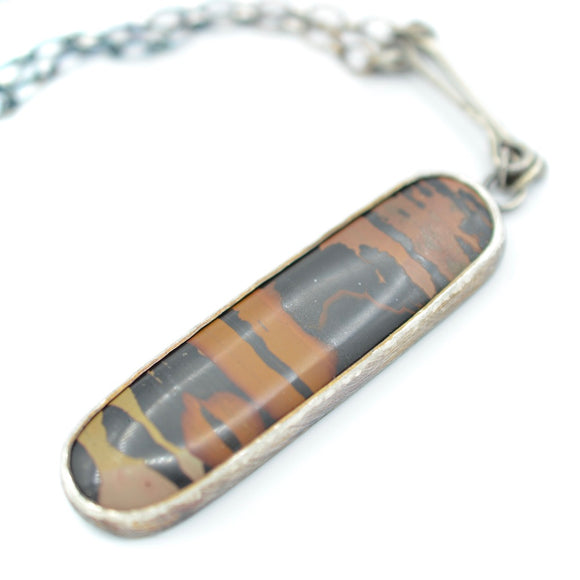 Indian Paint Stone Necklace