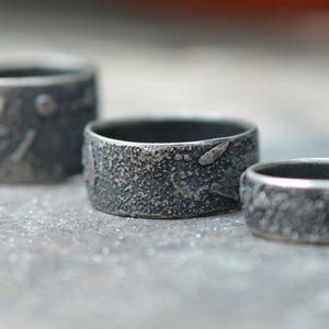 Topography Stacker Rings, Made-To-Order