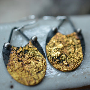 Spark: Keum Boo Goddess Earrings
