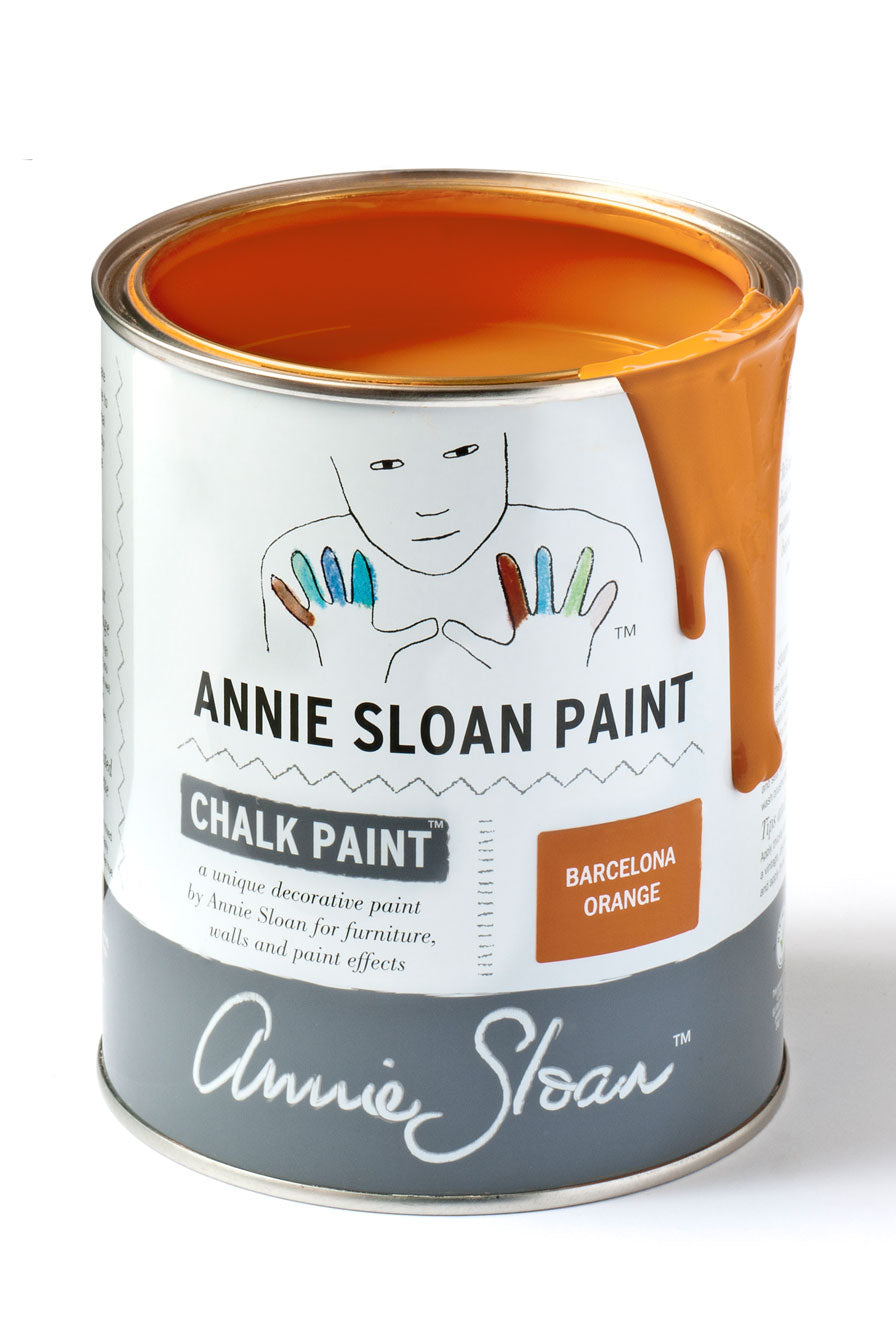 Barcelona Orange Annie Sloan Chalk Paint Litre
