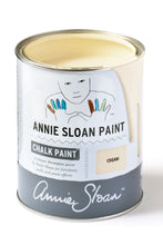 Load image into Gallery viewer, Cream Annie Sloan Chalk Paint Litre