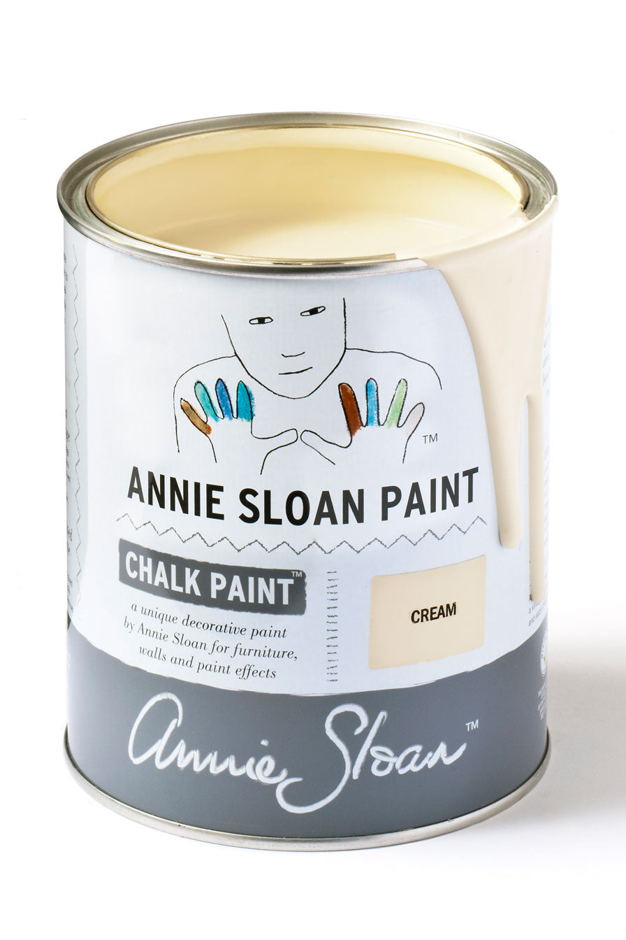 Cream Annie Sloan Chalk Paint Litre
