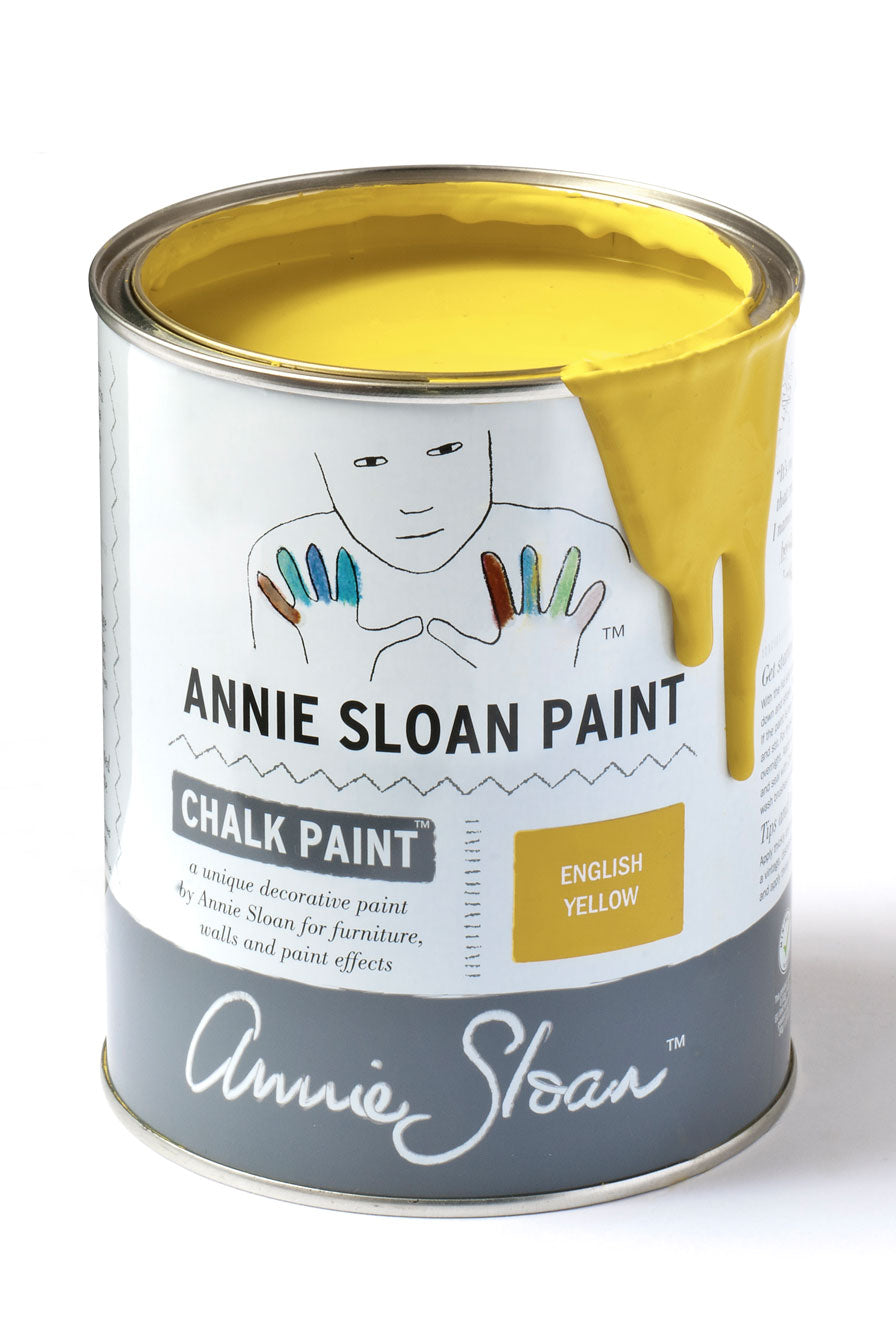 English Yellow Annie Sloan Chalk Paint Litre