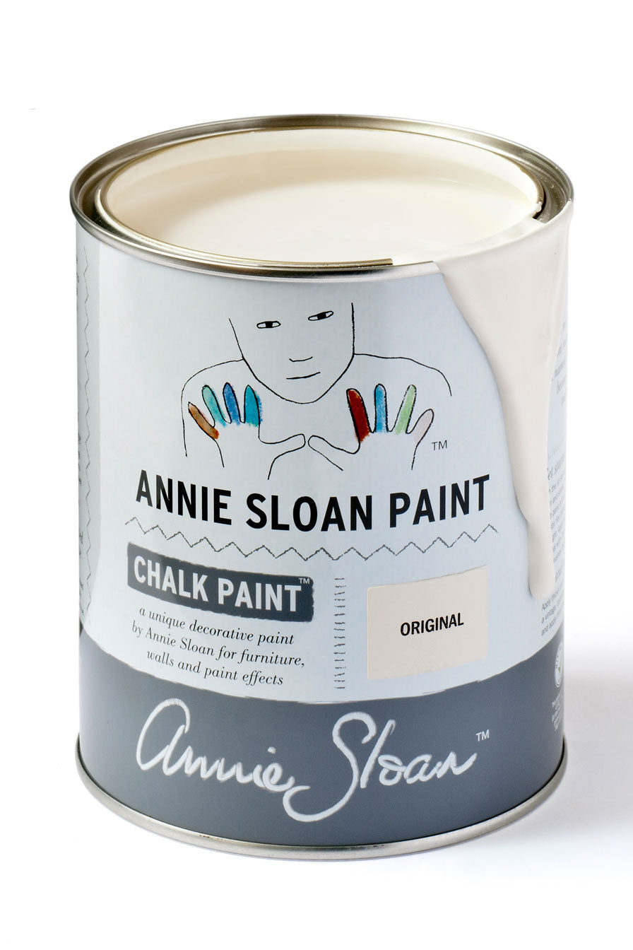 Original White Annie Sloan Chalk Paint Litre