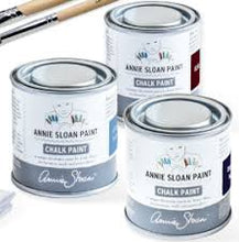 Load image into Gallery viewer, Athenian Black Annie Sloan Chalk Paint Sample Pot 120ml