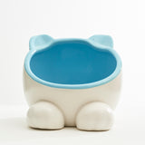 Pet Food or Water Bowl / Chinchilla Hideout (Blue / Pink)