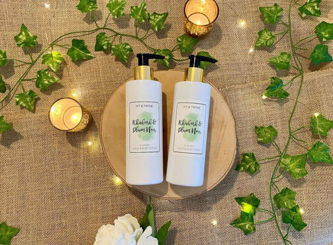 soaps and lotions Ivy & Twine