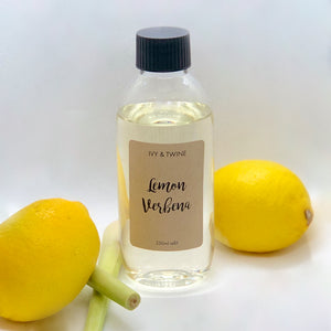 Lemon Verbena (250ml) Diffuser Refill from Ivy & Twine