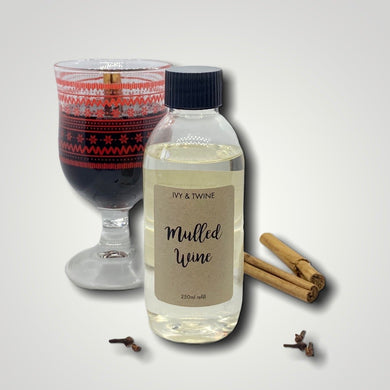 Mulled Wine (250ml) Diffuser Refill from Ivy & Twine