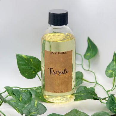 Fireside (250ml) Diffuser Refill from Ivy and Twine