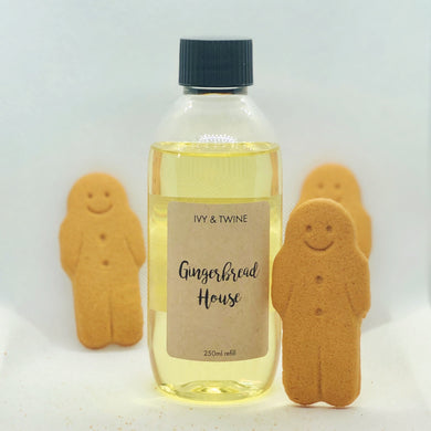Gingerbread House (250ml) Diffuser Refill from Ivy & Twine