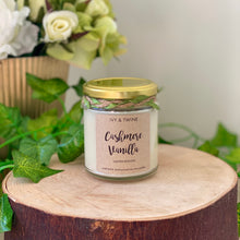 Load image into Gallery viewer, Cashmere Vanilla (190g) Candle by Ivy & Twine