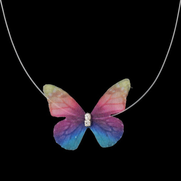 CHOKER Casual Elegant Butterfly Clavicle Necklaces