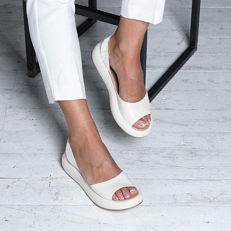 Faux Leather Sandals