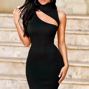 Neon Sleeveless Tight  Body Con Dress (Neon Dress)