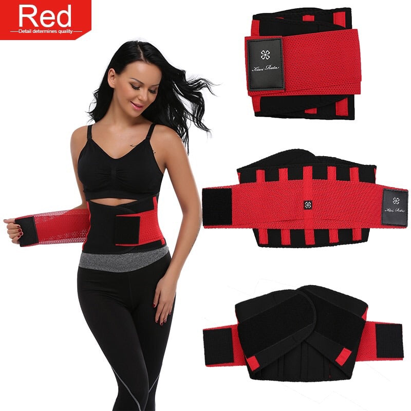Fitness Belt Xtreme Power Thermo Hot Body Shaper Waist Trainer Trimmer Corset Waist Belt Cincher Wrap Workout Shapewear Slimming