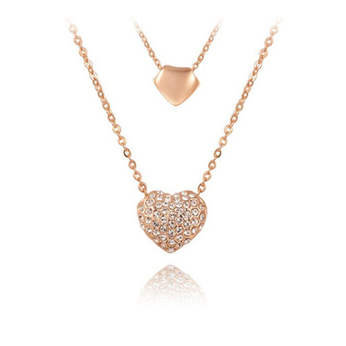 Crystal Heart Everglow Pendant For Women