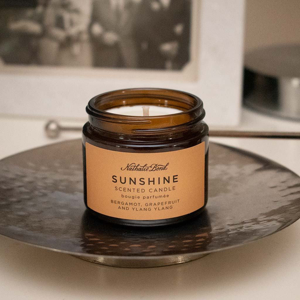 Natalie Bond Sunshine candle