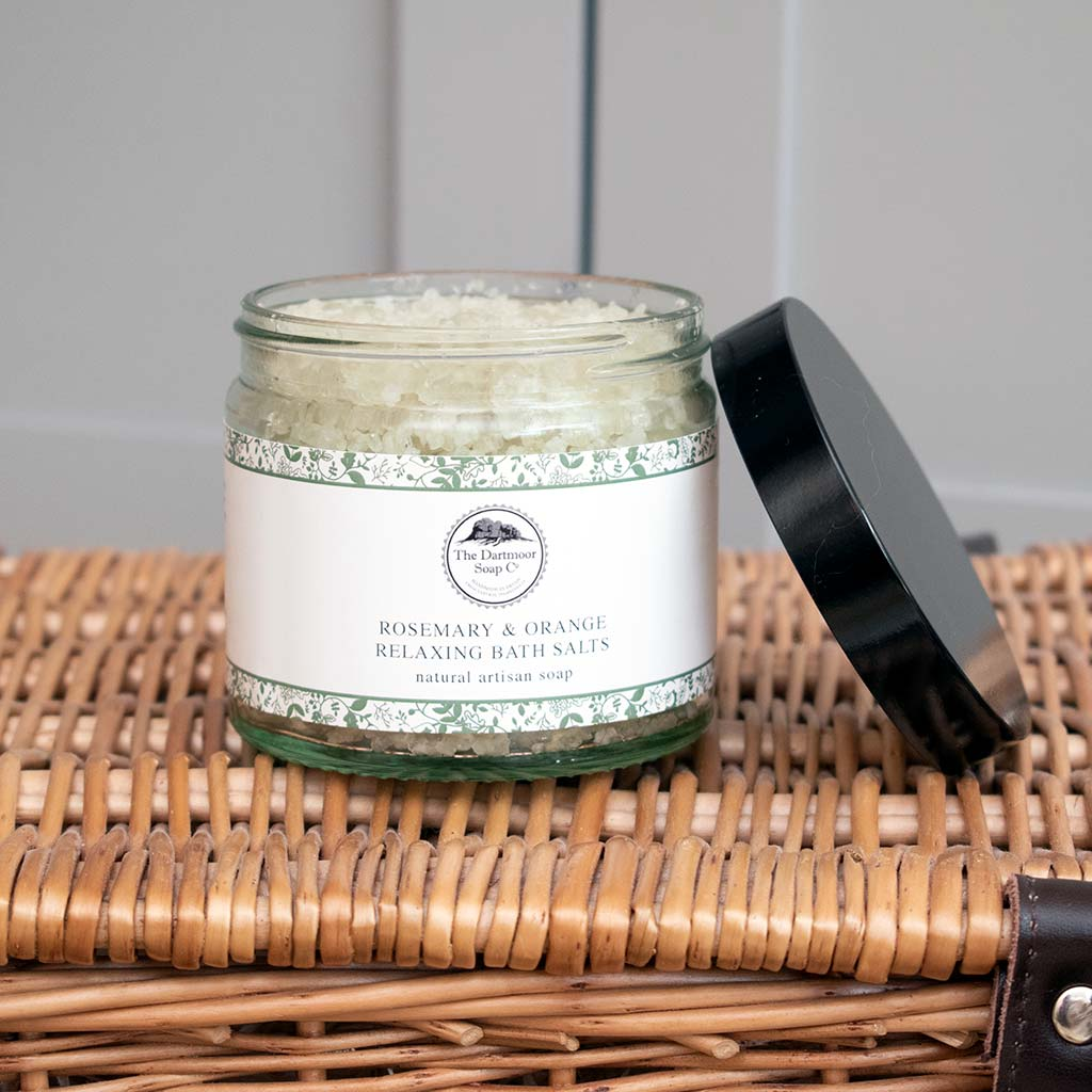 Dartmoor Rosemary and Orange Bath Salts