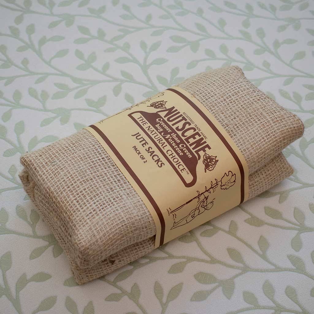 Nutscene Jute Storage Sacks