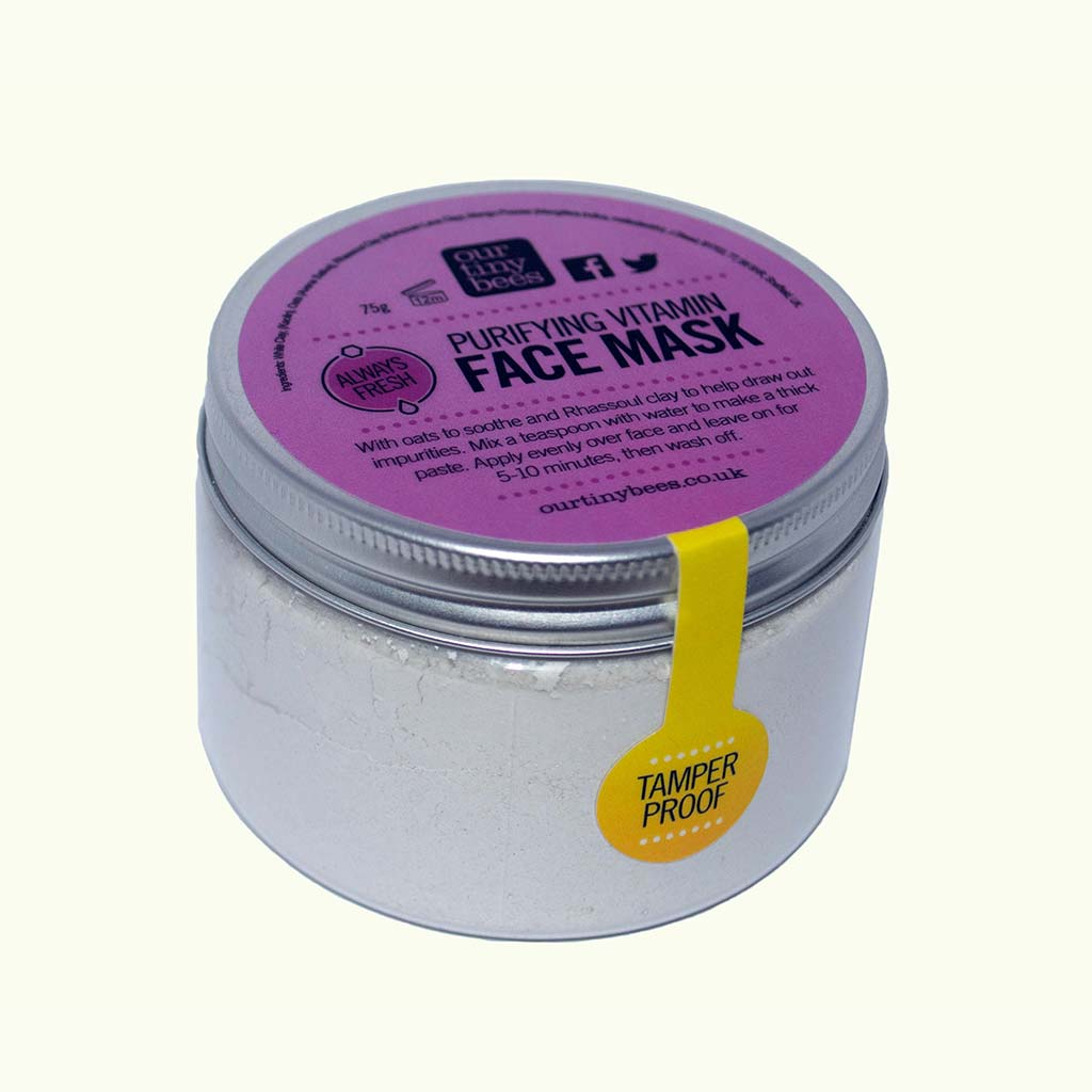 Our Tiny Bees Vitamin Detox Face Mask