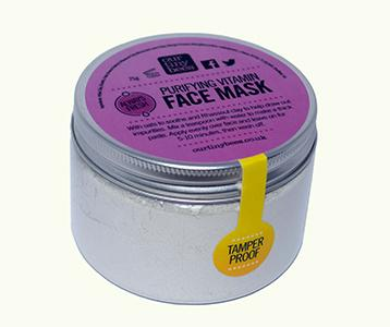 Our Tiny Bees rejuvenating face mask