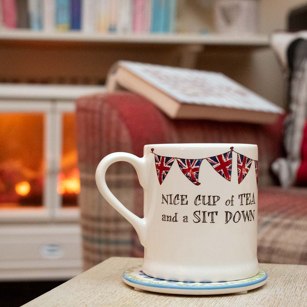Sweet William nice cup of tea and a sit down