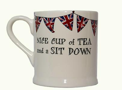 Sweet William Nice cup of tea and a sit down mug