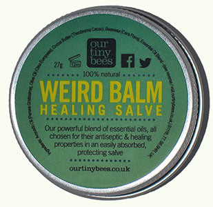 Our tiny Bees weird balm healing salve