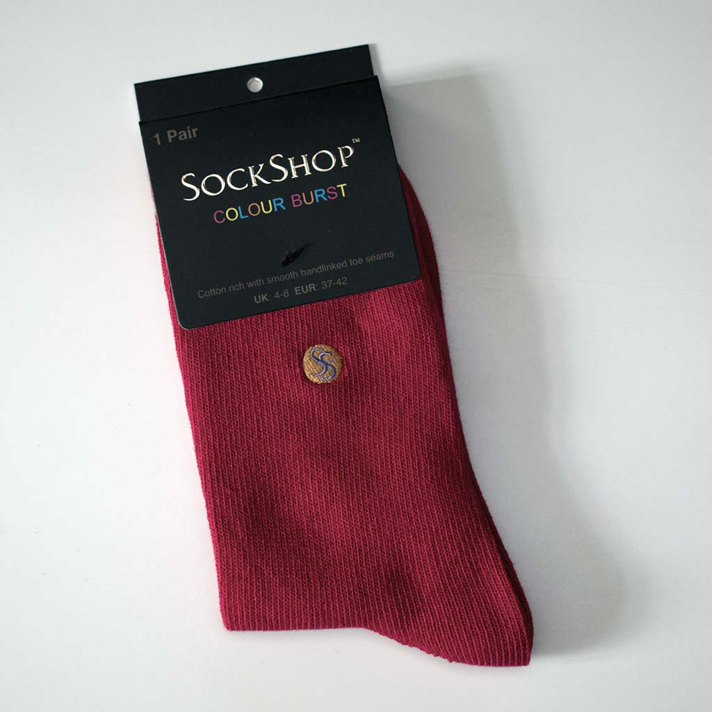 SockShop Strawberry Sorbet Ladies socks