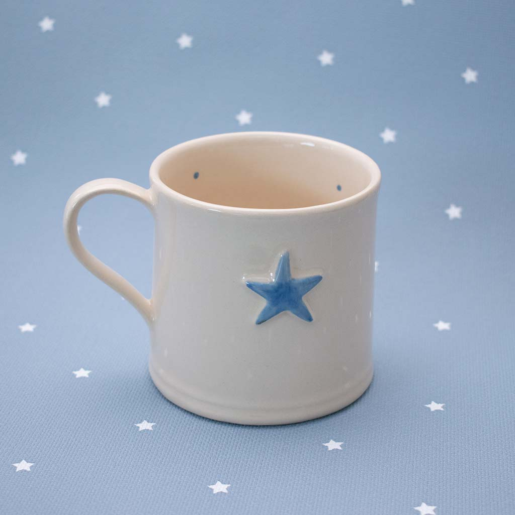 Deliverance County Blue star mug