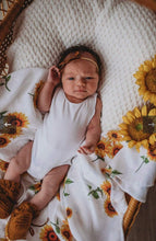 Load image into Gallery viewer, Sunflower | Organic Muslin Wrap - Happily Ever After Boutique