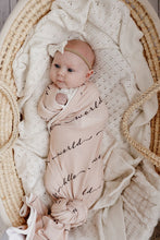 Load image into Gallery viewer, Hello World Earth Muslin Wrap - Happily Ever After Boutique