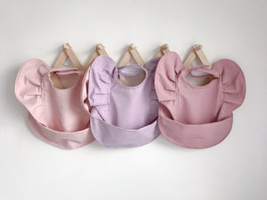 Snuggle Bib - Lavender - Happily Ever After Boutique