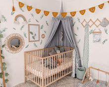 Load image into Gallery viewer, Grey Nursery Canopy - Happily Ever After Boutique