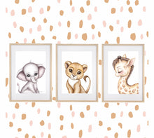 Load image into Gallery viewer, Gerald the Giraffe Print - Happily Ever After Boutique