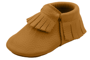 Mustard Frilled Moccasin Shoes - Happily Ever After Boutique