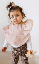 Load image into Gallery viewer, Nude| Snuggle Hunny kids Waterproof Bib - Happily Ever After Boutique