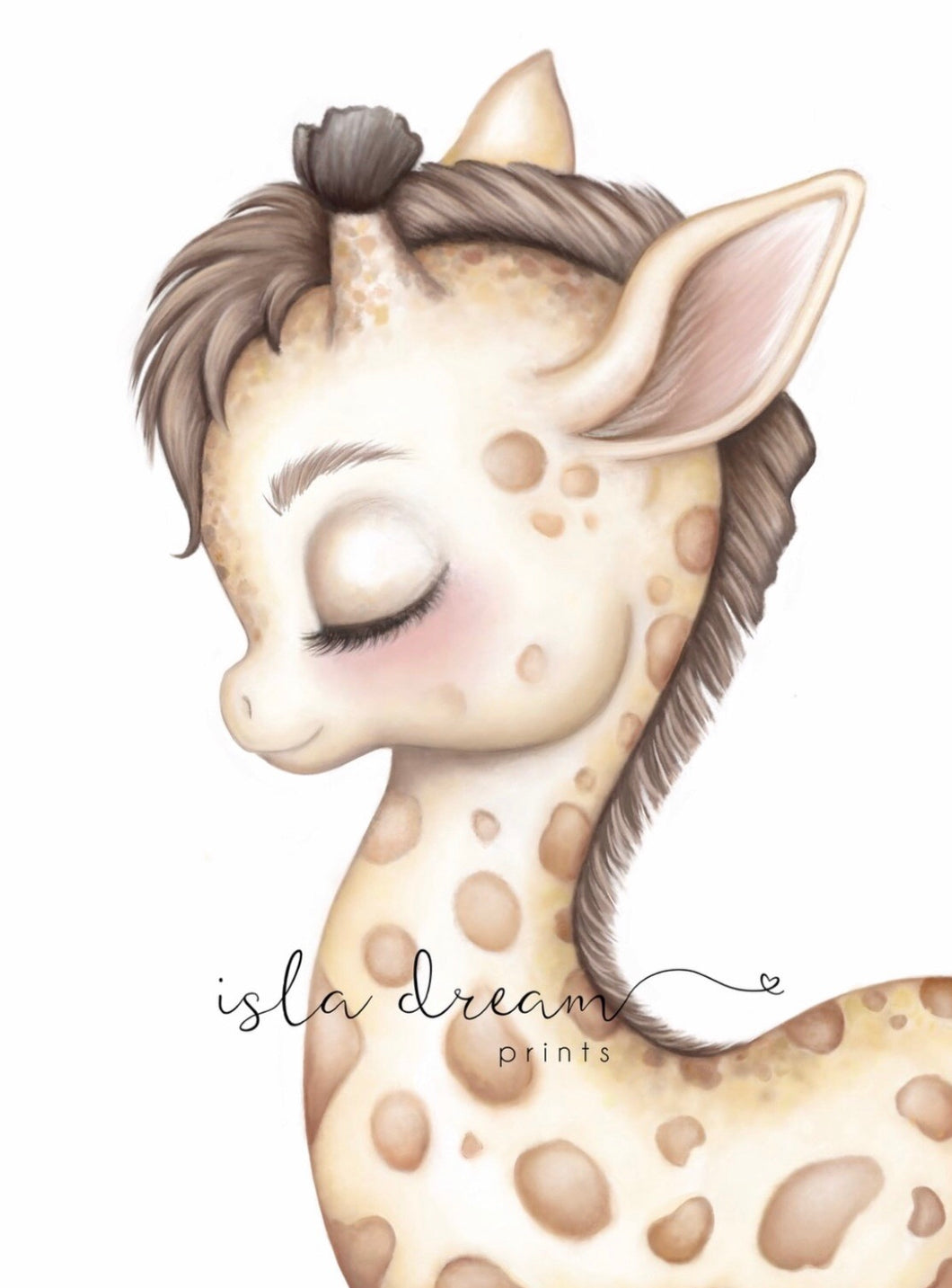 Gerald the Giraffe Print - Happily Ever After Boutique