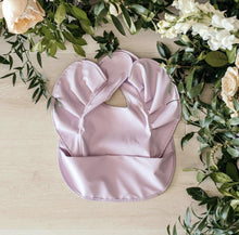 Load image into Gallery viewer, Snuggle Bib - Lavender - Happily Ever After Boutique